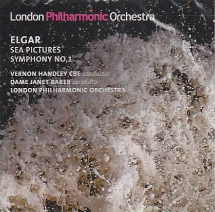 Edward Elgar / Symphony No. 1 / Sea Pictures / London Philharmonic Orchestra / Vernon Handley