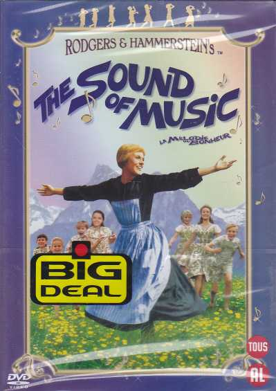 The Sound of Music (musikaalielokuva) DVD