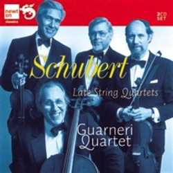Franz Schubert / String Quartets (Late) // Guarneri Quartet