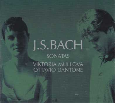 J.S. Bach / Sonatas for Violin and Cembalo / Viktoria Mullova / Ottavio Dantone 2CD