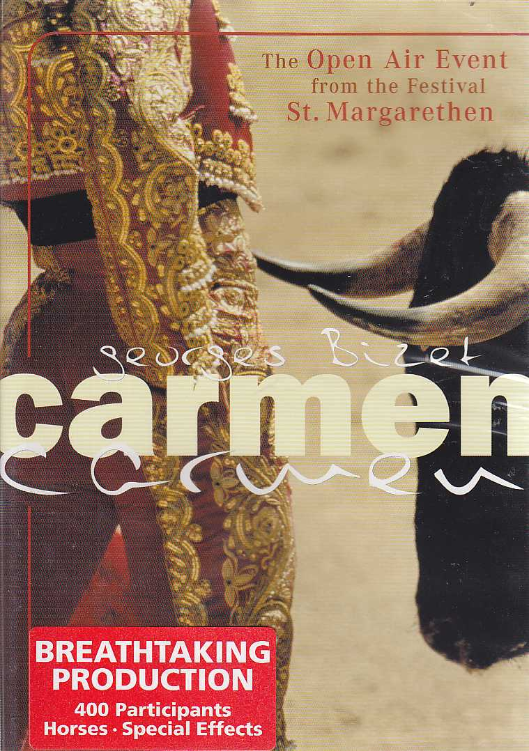 Georges Bizet / Carmen / The Open Air Event Festival from St. Margarethen DVD