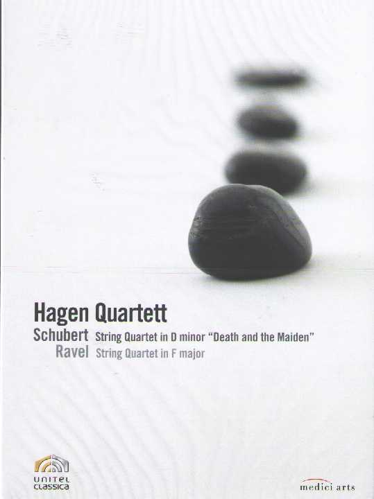 Franz Schubert / String Quartet no. 14 (Death and the Maiden) / Maurice Ravel / String Quartet / Hagen Quartett DVD