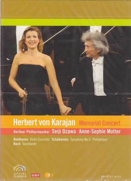 Memorial Concert for Herbert von Karajan DVD