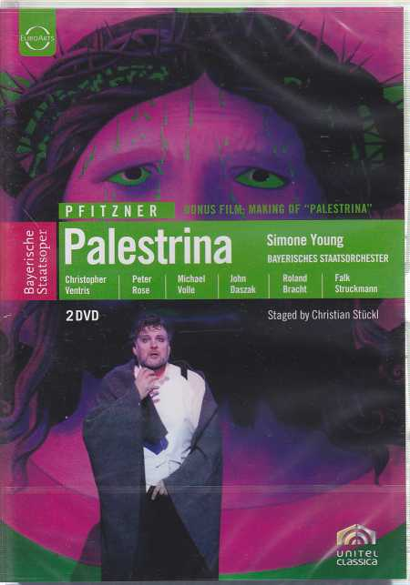 Hans Pfitzner / Palestrina / Christopher Ventris / Peter Rose / Bayerisches Staatsorchester / Simone Young DVD