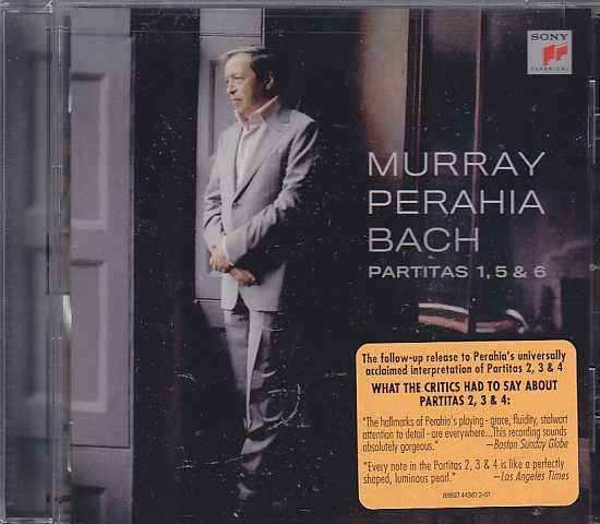 J.S. Bach / Partitas 1, 5 & 6 / Murray Perahia