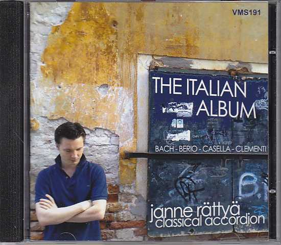 Janne Rättyä / The Italian Album