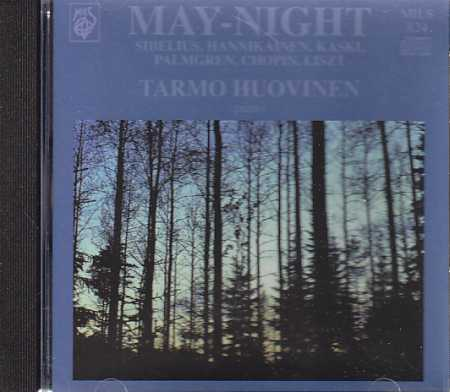 May-Night / Tarmo Huovinen, piano