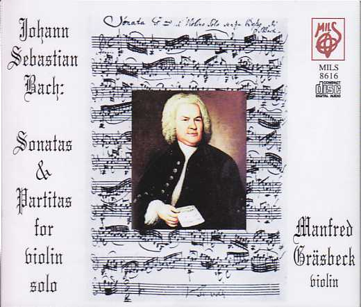 J.S. Bach / Sonatas and Partitas / Manfred Gräsbeck