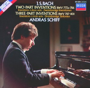 J.S. Bach / Two and Three Part Inventions and Sinfonias / András Schiff