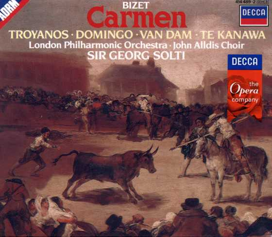 Georges Bizet / Carmen / Tatiana Troyanos / Placido Domingo / London Philharmonic Orchestra / Georg Solti 2CD