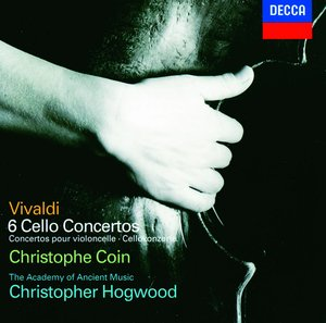 Antonio Vivaldi / 6 Cello Concertos / Christophe Coin / Academy of Ancient Music / Christopher Hogwood