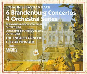 J.S. Bach / Brandenburg Concertos (Complete) / The English Concert / Trevor Pinnock