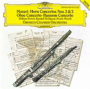 W.A. Mozart / Concertos for horn, oboe & bassoon