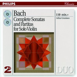 J.S. Bach / Sonatas and Partitas for Violin (Complete) // Arthur Grumiaux