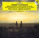 Robert Schumann / Piano Quintet Op. 44 / String Quartet No. 1 / Paul Gulda / Hagen Quartett