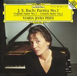 J.S. Bach / Partita No. 1 / English Suite No. 3 / French Suite No. 2 - Maria João Pires