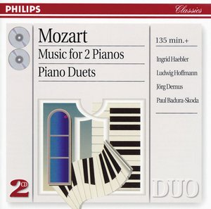 W.A. Mozart / Music for 2 Pianos