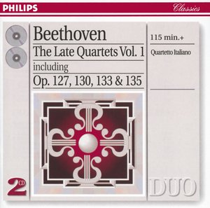 Ludwig van Beethoven / String Quartets (Late) vol. 1 // Quartetto Italiano