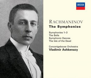 Sergei Rachmaninov / Symphonies (Complete) / The Bells / Symphonic Dances / The Isle of the Dead / Concertgebouw Orchestra / Vladimir Ashkenazy 3CD