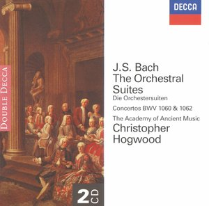 J.S. Bach / Orchestral Suites (Complete) // Academy of Ancient Music / Christopher Hogwood