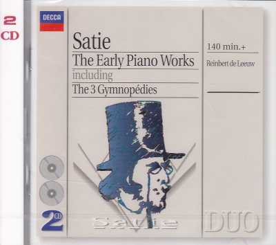 Erik Satie / Early Piano Works // Reinbert de Leeuw