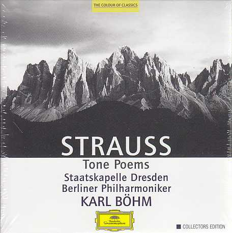 Richard Strauss / Tone Poems / Staatskapelle Dresden / Berliner Philharmoniker / Karl Böhm