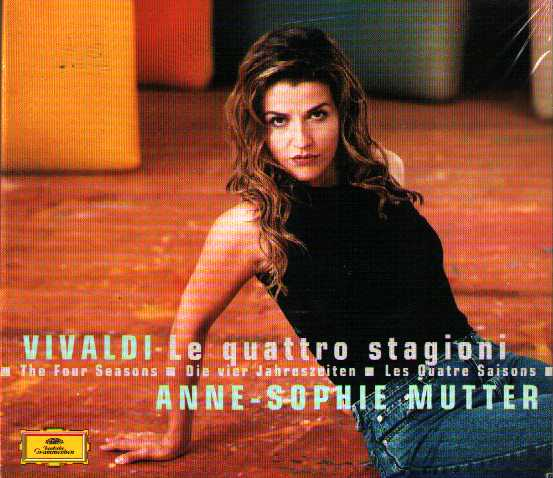Antonio Vivaldi / The Four Seasons // Anne-Sophie Mutter / Trondheim Soloists