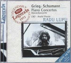 Edvard Grieg / Piano Concerto / Robert Schumann / Piano Concerto / Radu Lupu / London Symphony Orchestra / André Previn