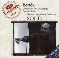 Béla Bartók / Concerto for Orchestra, etc. / London Symphony Orchestra / Sir Georg Solti