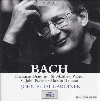 J.S. Bach / Christmas Oratorio / St. Matthew Passion / St. John Passion / Mass in B minor / John Eliot Gardiner 9CD