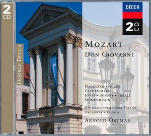 W.A. Mozart / Don Giovanni / Arleen Augér / Della Jones / Drottningholm Court Theatre Orchestra and Chorus / Arnold Östman