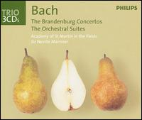 J.S. Bach / Brandenburg Concertos (Complete) / Orchestral Suites / Violin Concertos // Academy of St Martin in the Fields / Sir Neville Marriner