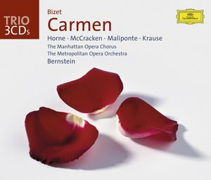 Georges Bizet / Carmen / Marilyn Horne / James McCracken / The Metropolitan Opera Orchestra / / Leonard Bernstein 3CD