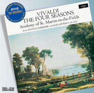 Antonio Vivaldi / The Four Seasons / Alan Loveday / Neville Marriner