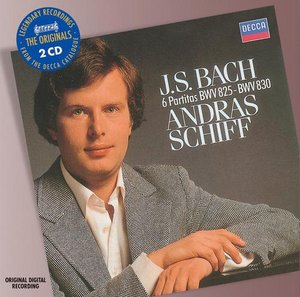 J.S. Bach / Partitas (Complete) / András Schiff 2CD