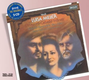 Giuseppe Verdi / Luisa Miller / Montserrat Caballé / Luciano Pavarotti / National Philharmonic Orchestra / Peter Maag 2CD