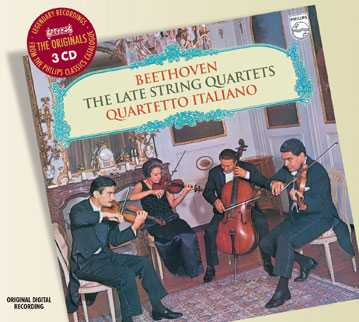 Ludwig van Beethoven / String Quartets (Late) / Quartetto Italiano 3CD