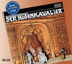 Richard Strauss / Der Rosenkavalier / Regine Crespin / Manfred Jungwirth / Wiener Philharmoniker / Sir Georg Solti 3CD