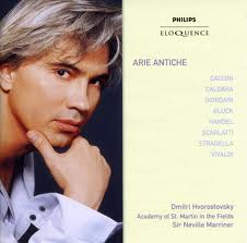 Dmitri Hvorostovsky / Arie antiche // Academy of St Martin in the Fields / Sir Neville Marriner