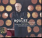 Pierre Boulez / Le Marteau sans maitre / Dérive 1 & 2 / Ensemble Intercontemporain / Boulez