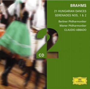 Johannes Brahms / 21 Hungarian Dances ym. / Claudio Abbado 2CD