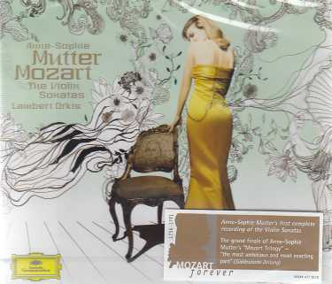 W.A. Mozart / Violin Sonatas (Complete) / Anne-Sophie Mutter / Lambert Orkis 4CD