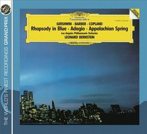 George Gershwin / Samuel Barber / Aaron Copland / Adagios for Strings / Los Angeles Philharmonic / Leonard Bernstein
