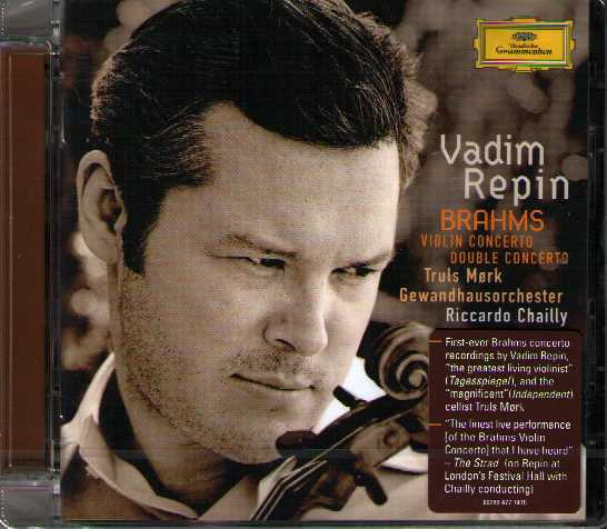 Johannes Brahms / Violin Concerto / Double Concerto // Vadim Repin / Truls Mørk / Gewandhausorchester / Riccardo Chailly