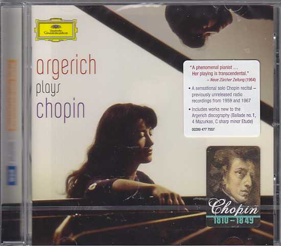 Frédéric Chopin / Piano Works / Martha Argerich