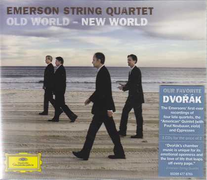 Antonín Dvorák / Old World, New World / Emerson String Quartet