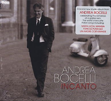 Andrea Bocelli / Incanto CD+DVD