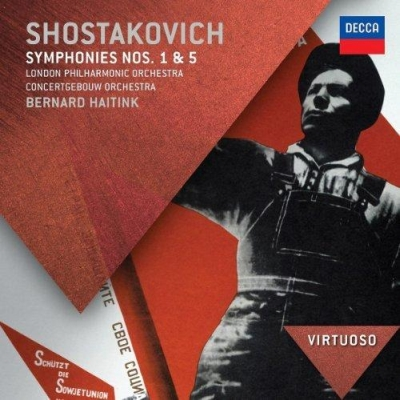 Dmitri Shostakovich / Symphonies no. 1 & 5 // London Philharmonic Orchestra / Concertgebouw Orchestra / Bernard Haitink