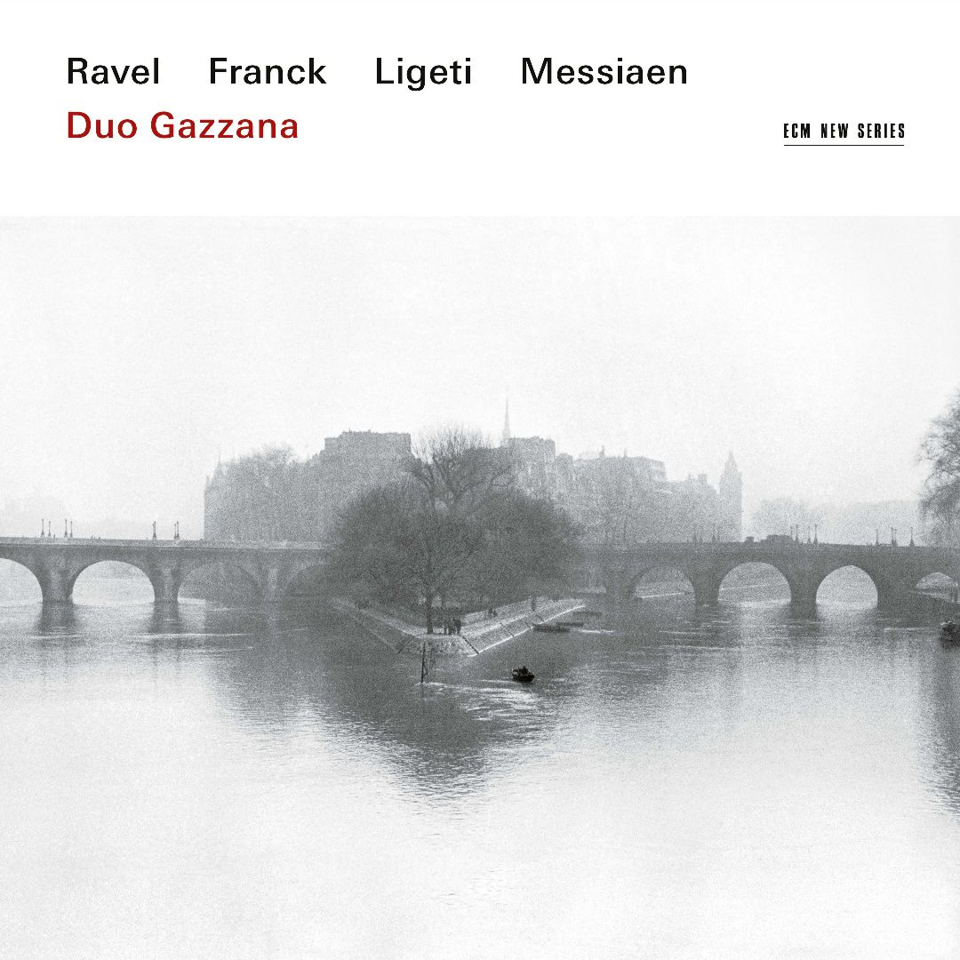 Duo Gazzana / Works for Violin and Piano // Maurice Ravel / César Franck / György Ligeti / Olivier Messiaen
