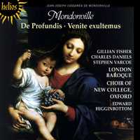 Mondonville: De Profundis / Venite Exultemus / Choir of New College / Higginbottom